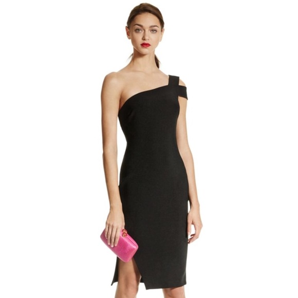c5145c9e likely Dresses & Skirts - Likely Packard Black One Shoulder Dress Size 4